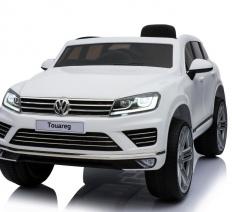 Volkswagen Touareg 12V fehér elektromos kisautó
