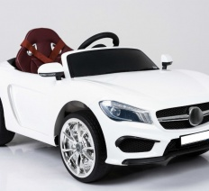 Cabrio Sport 12V elektromos kisautó fehér