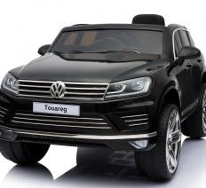 Volkswagen Touareg 12V fekete elektromos kisautó
