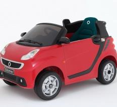 Smart Fortwo piros Elektromos kisautó