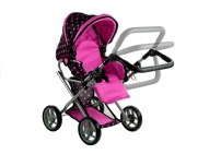 eng_pl_Doll-Bogie-and-Stroller-Alice-with-Carrier-Bag-and-Bedding-Black-with-Pink-Dots-3820_2